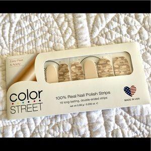 Color Street Boot Camp -Tan Camo